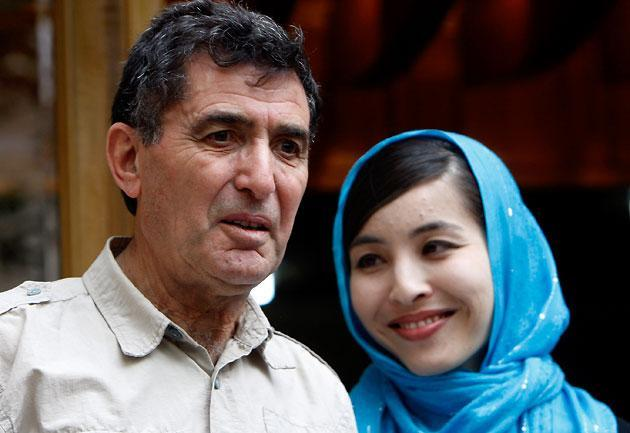 Journalist Roxana Saberi was reunited with her father, Reza, in May 2009, after spending 100 days in an Iranian prison. (AP)