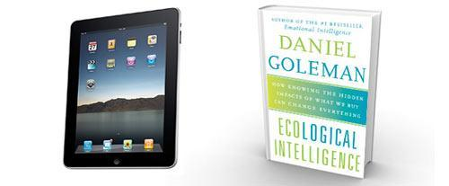 Goleman on iPad vs. book