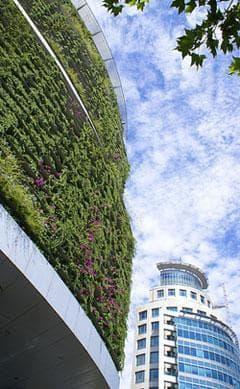Green building in Santiago, Chile (Photo: nielsvk/flickr.com)