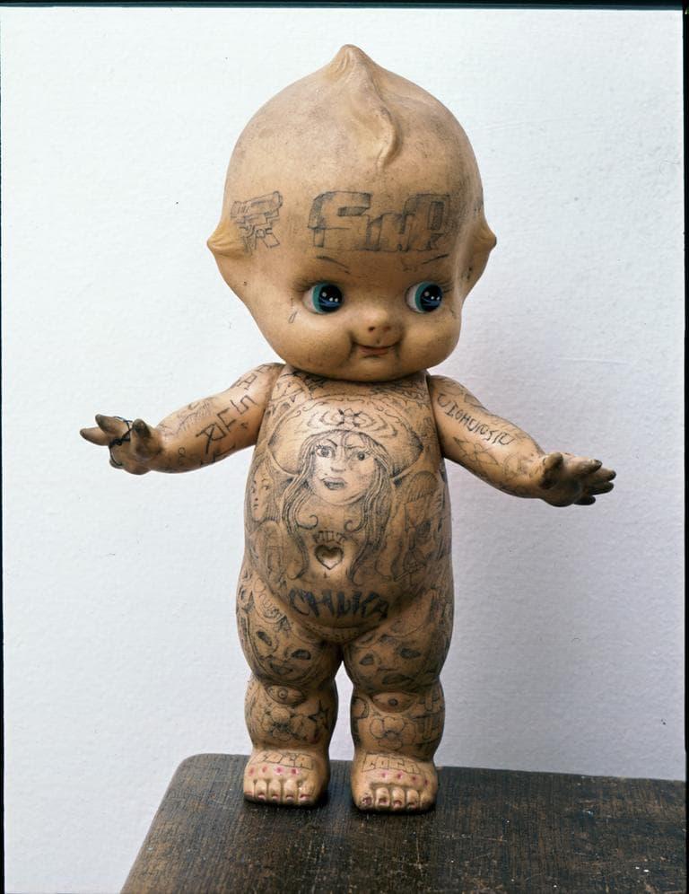 At The Ica Body Art Morphs Into Fine Art Wbur News