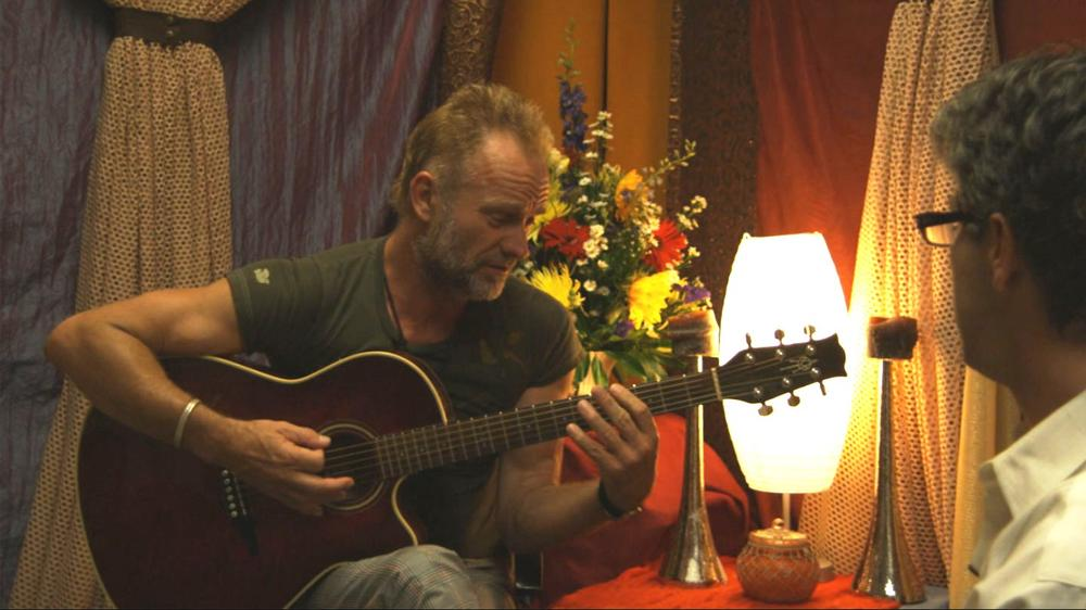 "Geoff Edgers interviews Sting for his film, ""Do It Again."""