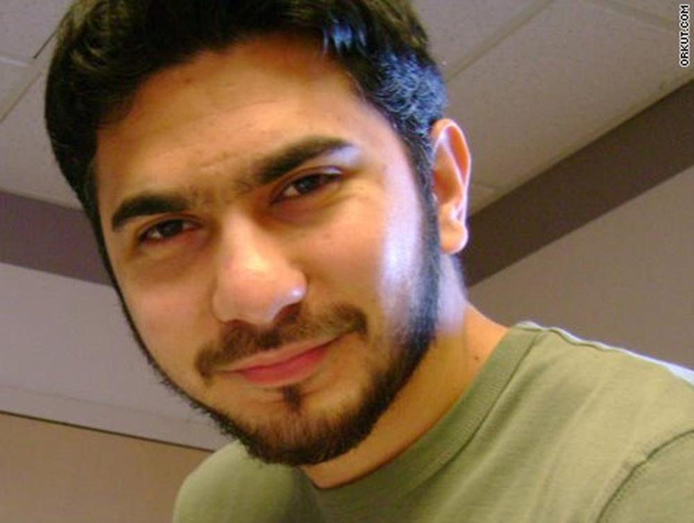 In this photo from the social networking site Orkut.com, a man who was identified by neighbors in Connecticut as Faisal Shahzad, is shown. (AP)