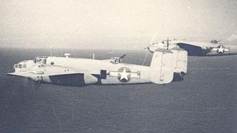 A WWII-era B-25 Mitchell bomber (Courtesy)