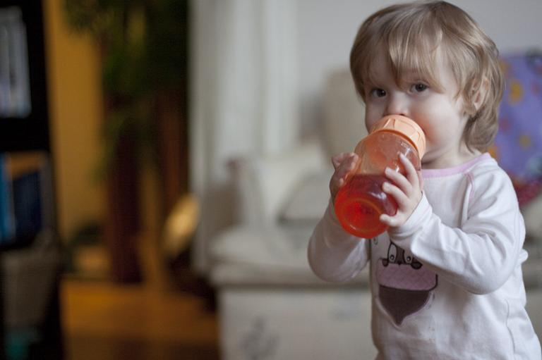 Bisphenol A, or BPA, is a chemical in plastic. Massachusetts is weighing a ban on the chemical in children's food and beverage containers. (Jenny Lee Silver via Flickr)