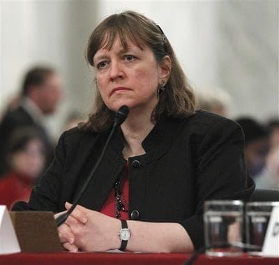 Elizabeth Birnbaum, former director of Minerals Management Service..  (AP)