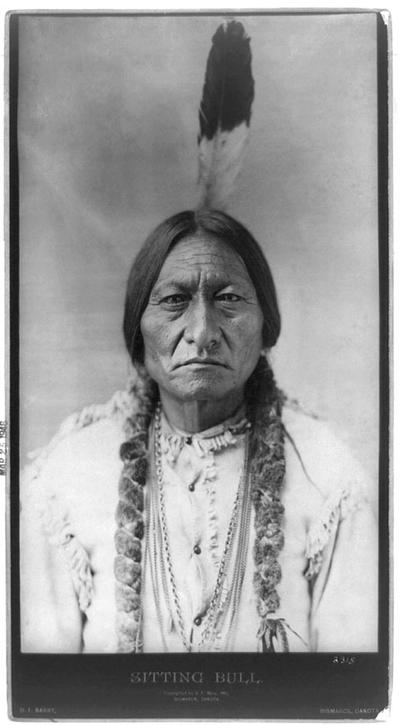 Sitting Bull (Photograph by D. F. Barry, 1885, Credit: Wikipedia, Library of Congress)