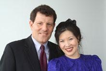Nicholas Kristof, Sheryl WuDunn (Credit: Middlebury College)