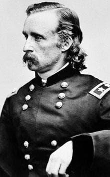 Gen. George A. Custer shown in an undated photo. (AP)