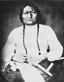 Undated photo of Sitting Bull. (AP)