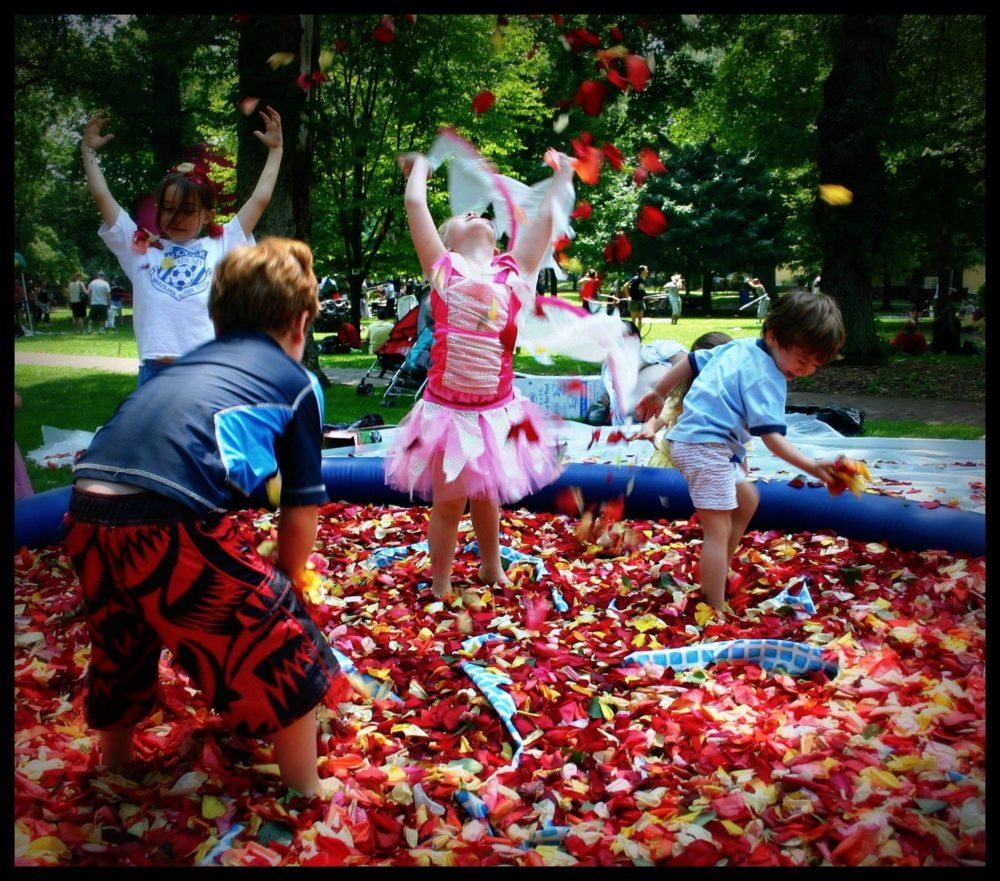 Rose Petal Pool by Rounder (Joanne Jovinelly/Figment)
