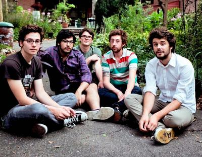 Members of the band Passion Pit (Passion Pit