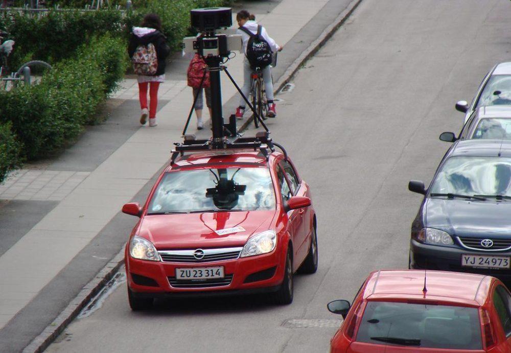 A Google Street View vehicle in Copenhagen (Christian Johannesen/Flickr)