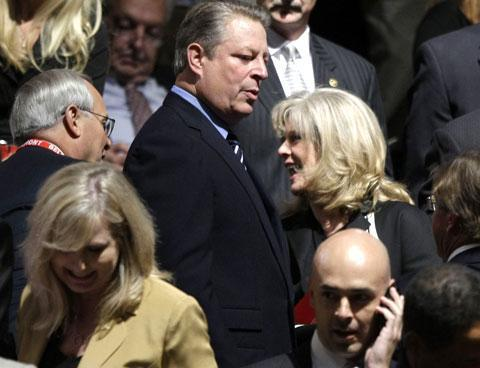 Al and Tipper Gore in 2008. (AP)
