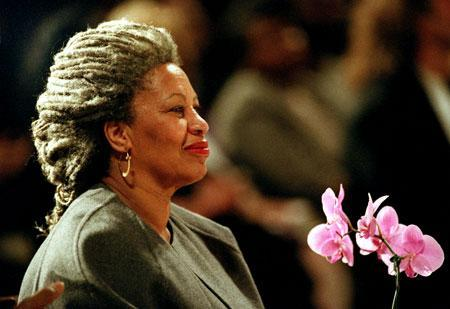 Nobel Prize-winning author Toni Morrison, New York City, 1994. (AP)