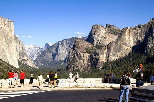 Yosemite National Park, from Tunnel View (Credit: flickr/jimmyharris)