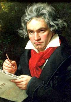 """Ludwig van Beethoven,"" by Karl Joseph Stieler (Credit: Art Archive/Beethoven House)"