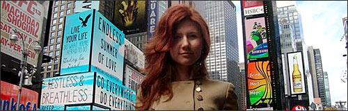 """This undated image taken from the Russian social networking website """"Odnoklassniki"""", shows a woman journalists have identified as Anna Chapman, who appeared at a hearing Monday, June 28, 2010 in New York federal court. (AP)"""