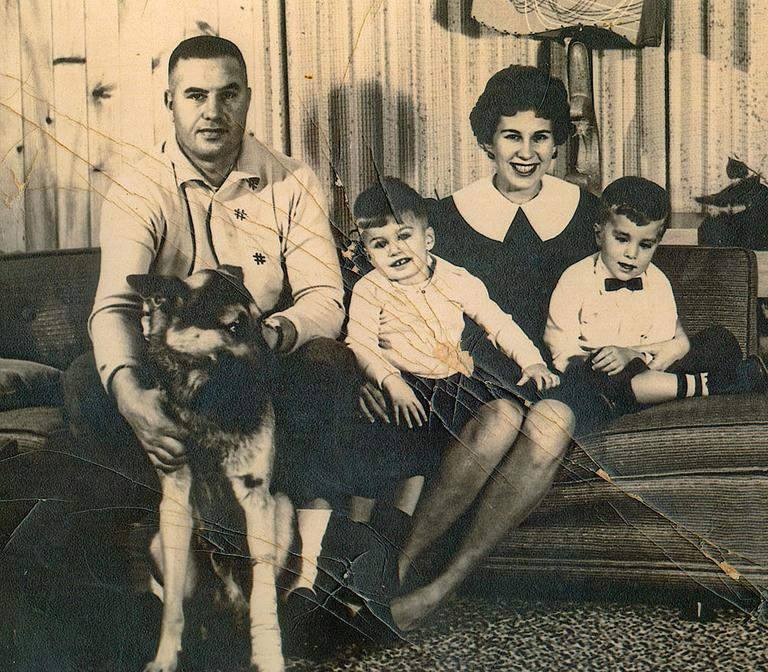 The Greco Family at home, in this undated photo (Courtesy)