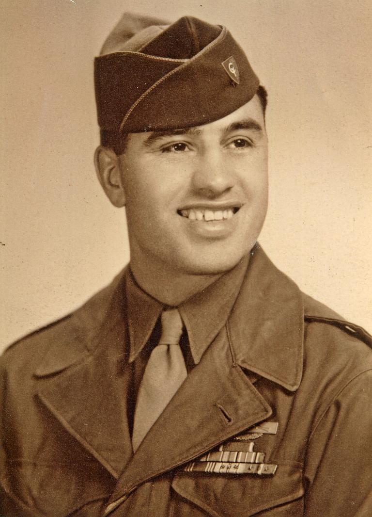 Louis Greco Was Awarded Two Bronze Stars And A Purple Heart In World War II