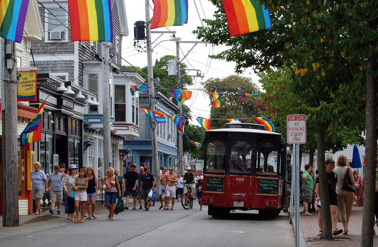 Provincetown, on the furthermost tip of Cape Cod, has become a resort town — known for its large gay and artist populations. The town's high school is being phased out because of the steady decline in students. (HBarrison/Flickr)