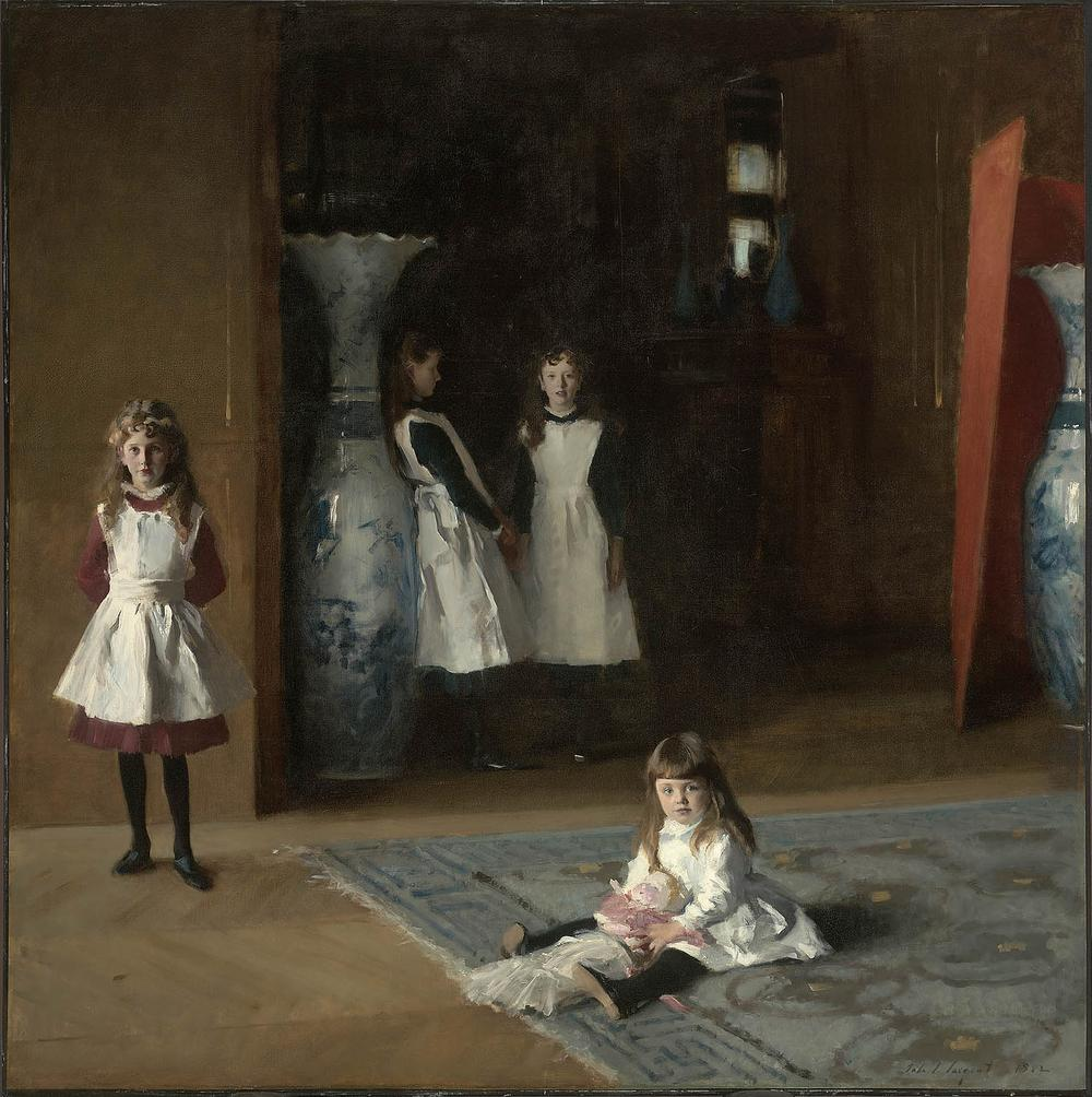 "John Singer Sargent's ""The Daughters of Edward Darley Boit."" (Courtesy of Museum of Fine Arts, Boston)"