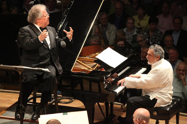 The BSO will have to perform at Tanglewood without Maestro James Levine, seen here at Tanglewood in 2009. (Courtesy)