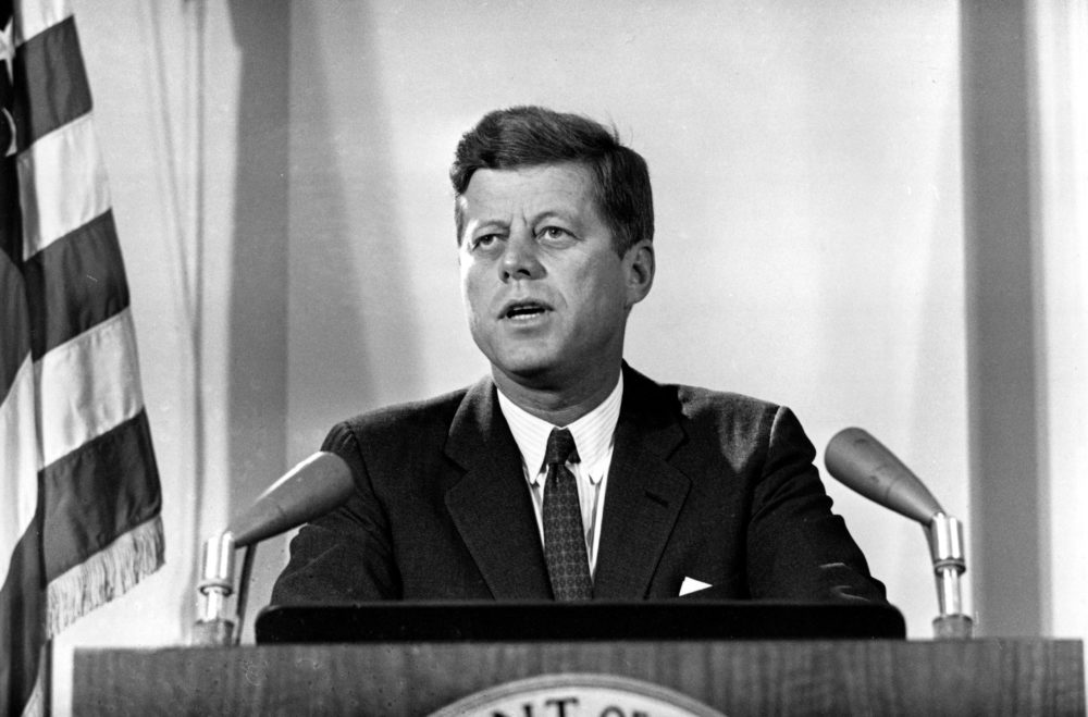 President Kennedy in 1962. (AP)