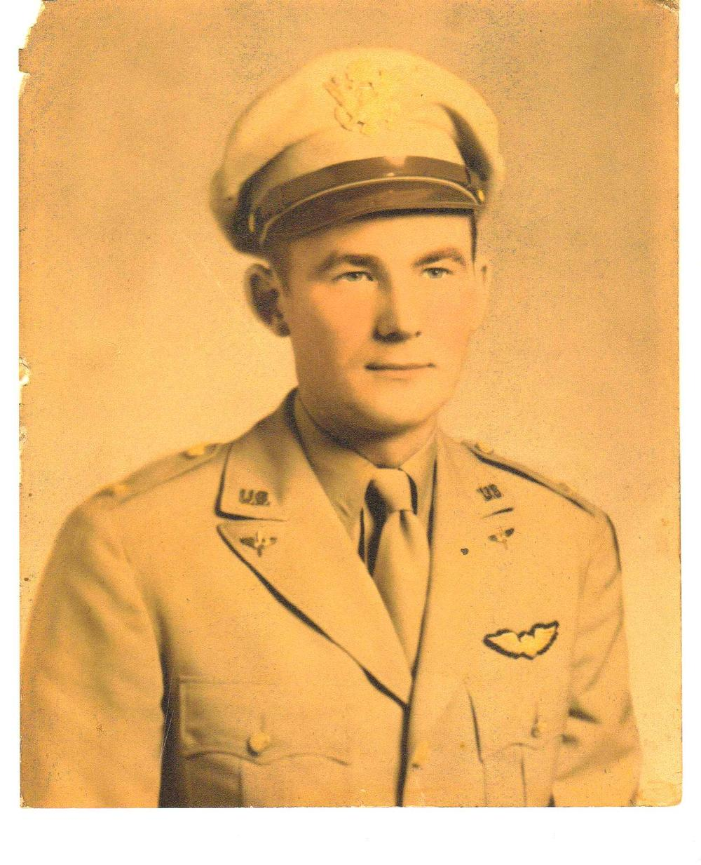 Lt. Joseph J. Auld (courtesy of Gini Doolittle)