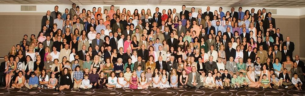 The Rashid family's 82nd reunion brought together more than 300 family members. Click on photo to see full size version. (Courtesy: Rashid family)