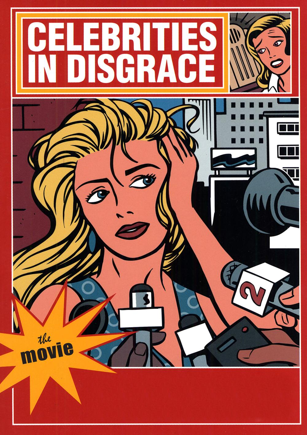 """Celebrities In Disgrace"" movie poster (Courtesy Sierra Bravo Sierra Motion Pictures)"