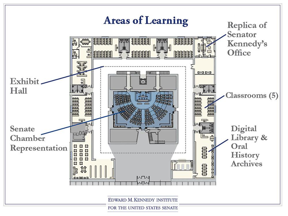 A floor plan for the institute. (Click to enlarge)