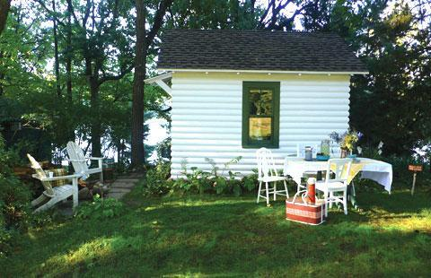 Tereasa Surratt's cottage in Elkhorn, Wisconsin (Credit: Sterling Publishing)