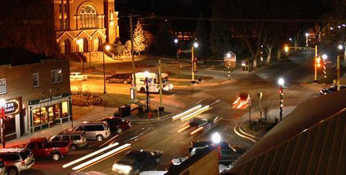 Downtown area of Fargo, N.D. (Credit: City of Fargo)