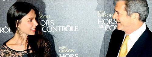 Mel Gibson and Oksana Grigorieva (AP)