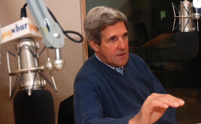 File photo, Sen. John Kerry (Jesse Costa/WBUR)