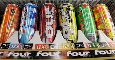 Cans of Four Loko (AP)