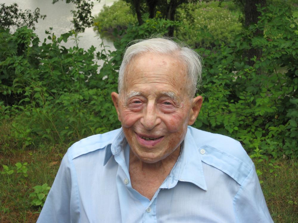 Henry Kolm, in July (David Boeri/WBUR)