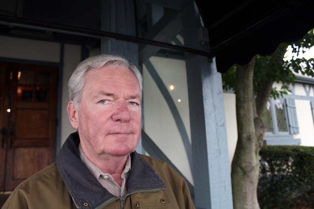 Tim Hanna is the owner of Ken's Steak House, an institution in Framingham. (Lisa Tobin/WBUR)