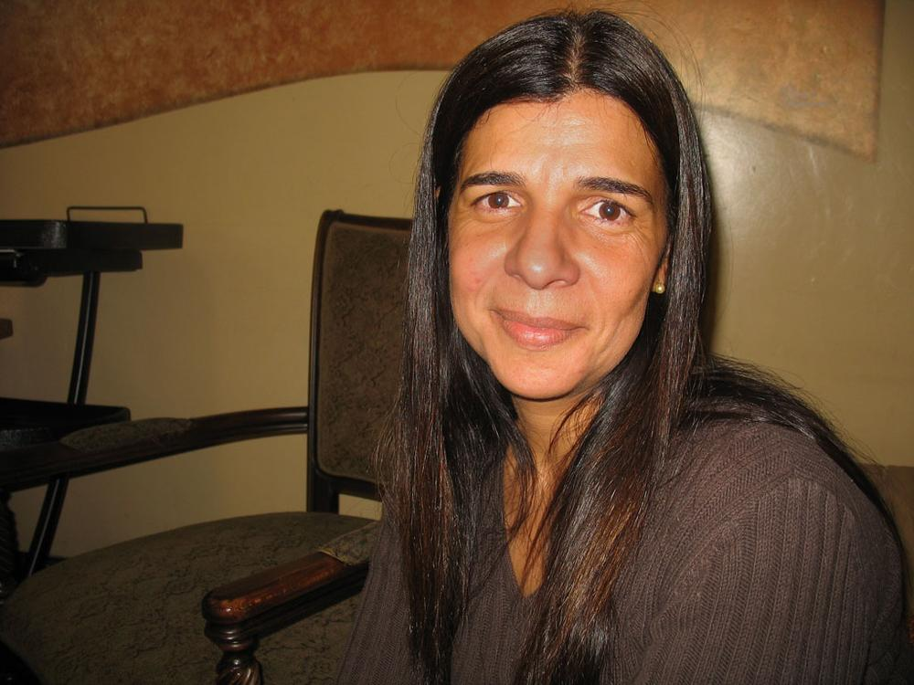 Luciana Sousa (Martha Bebinger/WBUR)