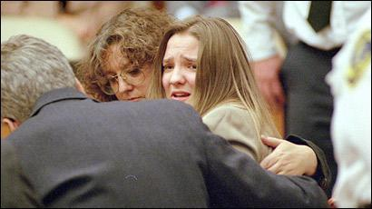 Nanny Louise Woodward after her 1998 conviction