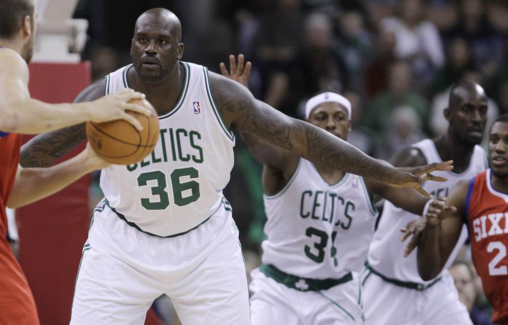 Shaq Makes Celtics' Debut In 93-65 Win Over 76ers | WBUR News