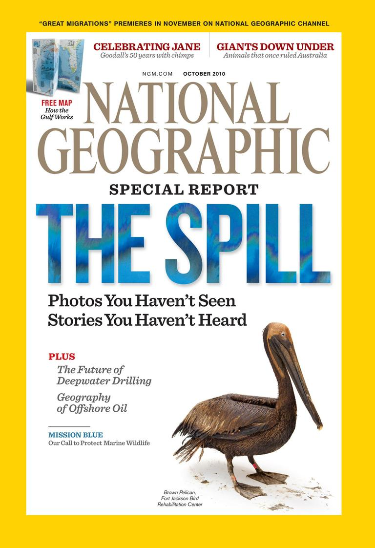 The October National Geographic
