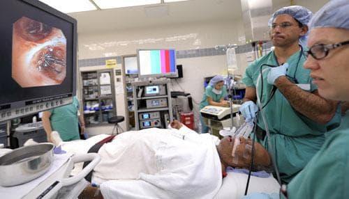 The Washington Hospital Center in Washington, July 27, 2010. (AP)
