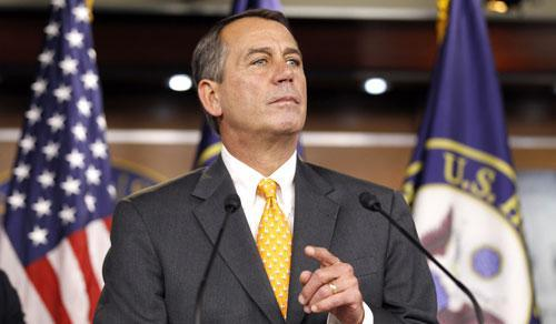 House speaker-in-waiting John Boehner, R-Ohio, in Washington, Nov. 3, 2010. (AP)