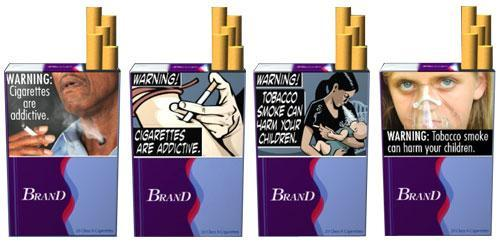Images proposed for the FDA's new anti-smoking campaign (FDA.gov)
