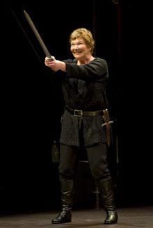 """Tina Packer in """"Women of Will"""" (Credit: Shakespeare & Company)"""