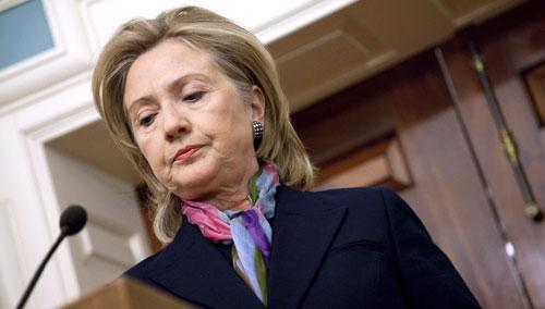 Secretary of State Hillary Clinton makes a statement on the Wikileaks document release, Nov. 29, 2010. (AP)