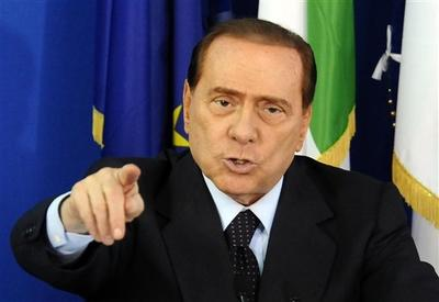 Italian Premier Silvio Berlusconi. (AP )