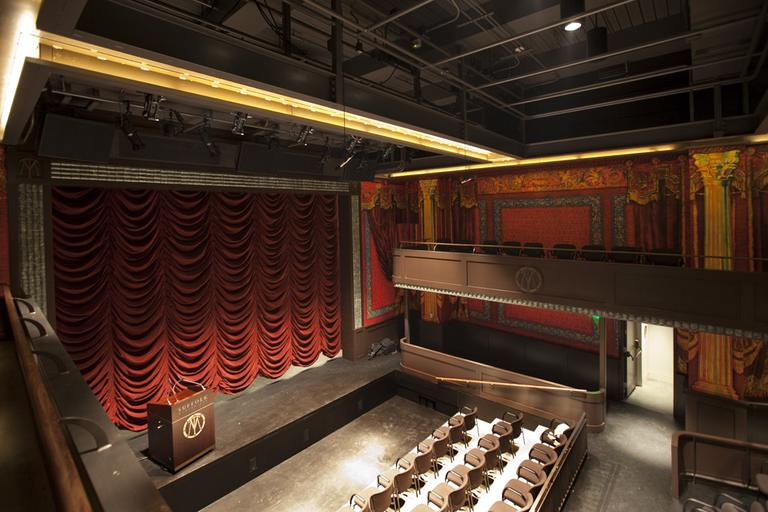 The interior of the restored Modern Theatre (Courtesy Suffolk University)