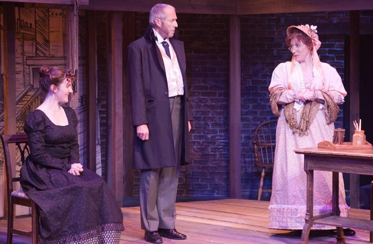 "A scene from ""The Life and Adventures of Nicholas Nickleby"" (Courtesy of the Lyric Stage Company)"